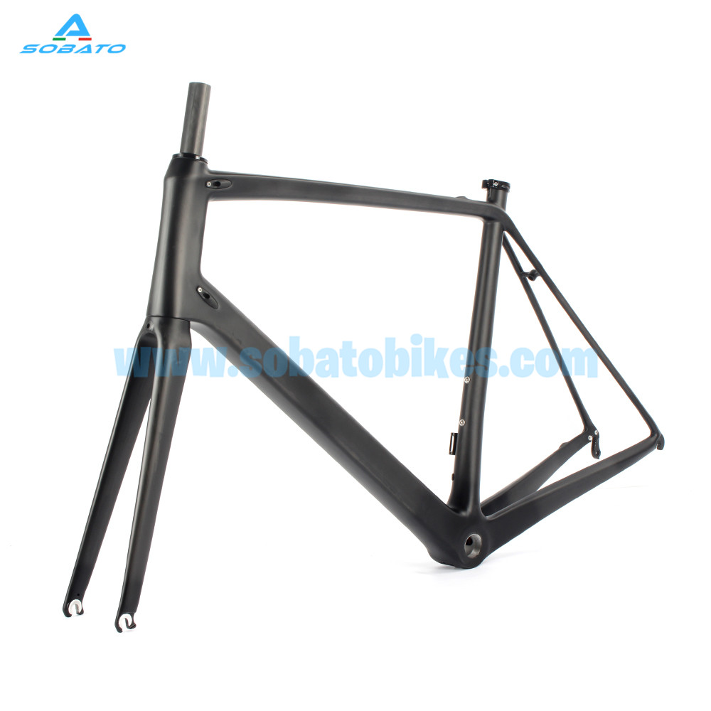 2016 Carbon Road Bike Frame Road Bike Carbon Road Bike Frame UD Glossy Endurance Road Bike Carbon Frame 49/52/54/56/58cm 53cm 55cm 58cm fixed gear bike frame matte black bike frame fixie bicycle frame aluminum alloy frame with carbon fork