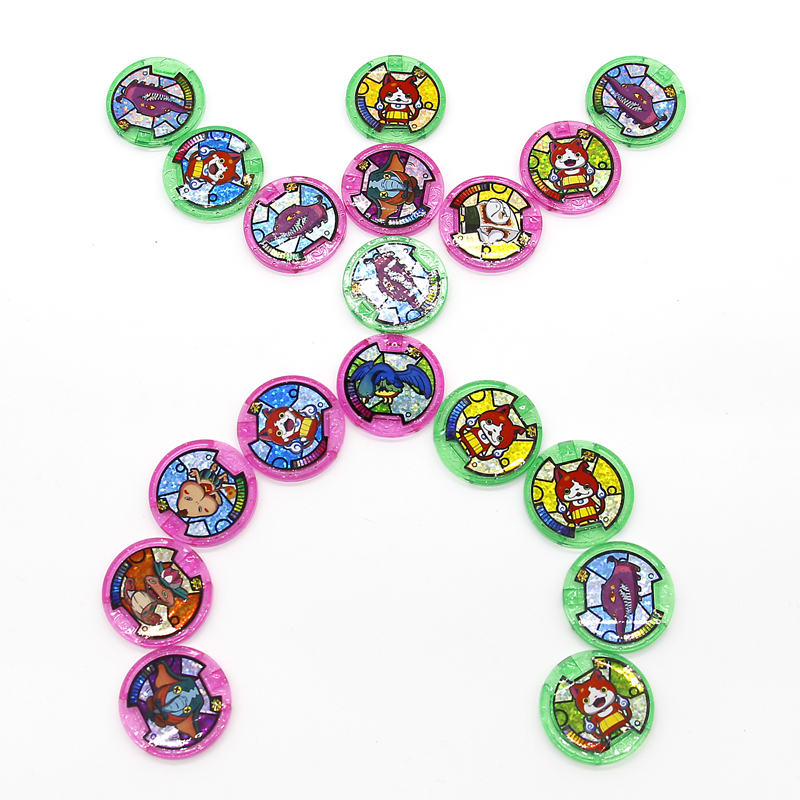 Image 5 - Japanese Anime Yokai Watch DX Peripheral  Yo Kai Wrist Watch Medals Collection Emblem Toy-in Action & Toy Figures from Toys & Hobbies