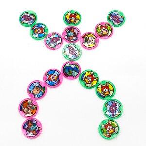 Image 5 - Japońskie Anime Yokai zegarek DX peryferyjne yo kai zegarek na rękę medale kolekcja godło zabawka
