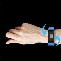 Fitness pulsera Tracker wristband pulsera Monitores F1 Smart pulsera Presión arterial con podómetro pulsera