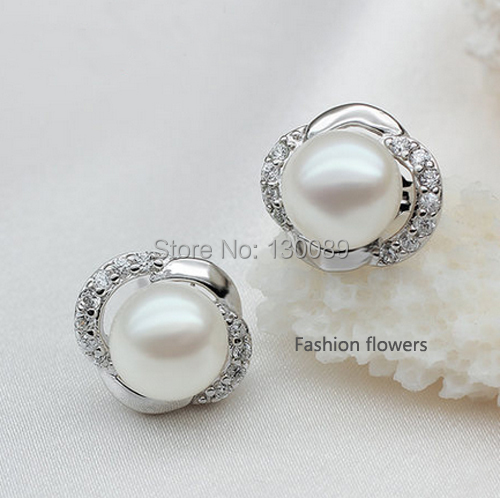 Real Pearl Earrings Studs Earrings Real Pearl Stud
