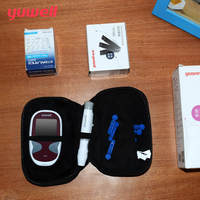 yuwell Blood Glucose Meter Diabetic Glucometer Monitor With 50Pcs Glucometer Test Strips Blood Sugar Meter Diabetes Medical
