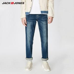 JackJones Men's Stretch Loose fit Jeans Men's Denim Pants Brand New Style Trousers Jack Jones Menswear 219132584(China)