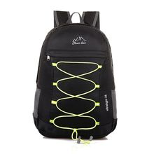 Good Quality New Nylon Material Unisex Outdoor Sports Shoulder Hiking Travel Folding Ultralight Daypack Bag Backpack