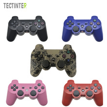 Para Sony Playstation 3 Controlador SIXAXIS Wireless Bluetooth Dual Vibration Gamepad para Sony PS3 Console Controle Mando Joystick