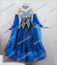 Ballroom  Waltz Tango Ballroom Dance Dress, Smooth Ballroom Dress,Standard Ballroom Dress Girls BD-022