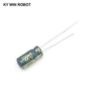 Image 2 - 50 stks/partij 100 uf 16 v 100mf 105C 5X11mm Aluminium Elektrolytische Condensator 16V100UF radial 50 stks
