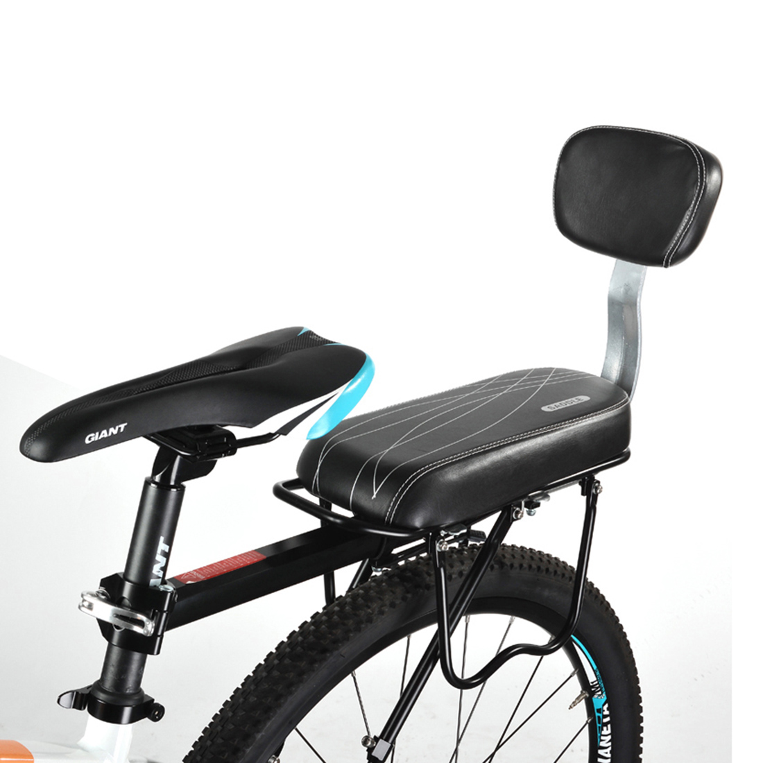The Bike Chair Cast Iron Aliexpress Buy Bicycle Saddle Child Back Seat