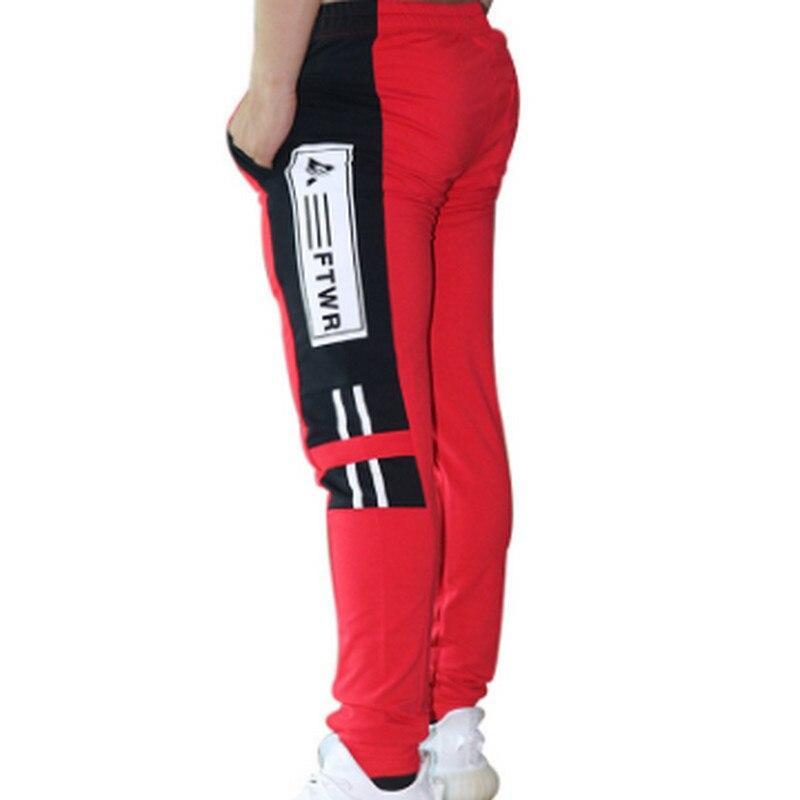 84e854626 Comprar 2018 nuevos pantalones de chándal de entrenamiento sólido para Hombre  Ropa de culturismo gimnasios casuales Fitness pantalones de chándal  pantalones ...