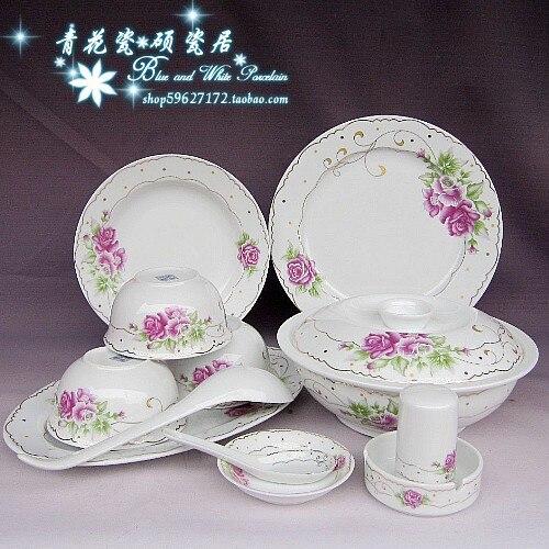 Столовые сервизы из Китая