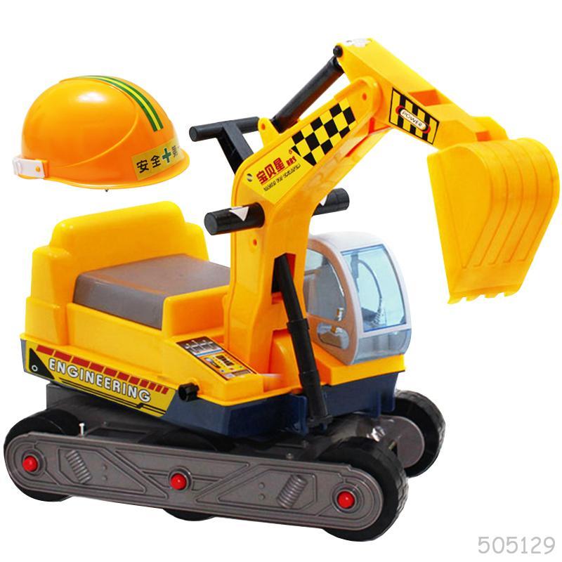 Los niños Juguetes Excavadora Retroexcavadora Puede Tomar
