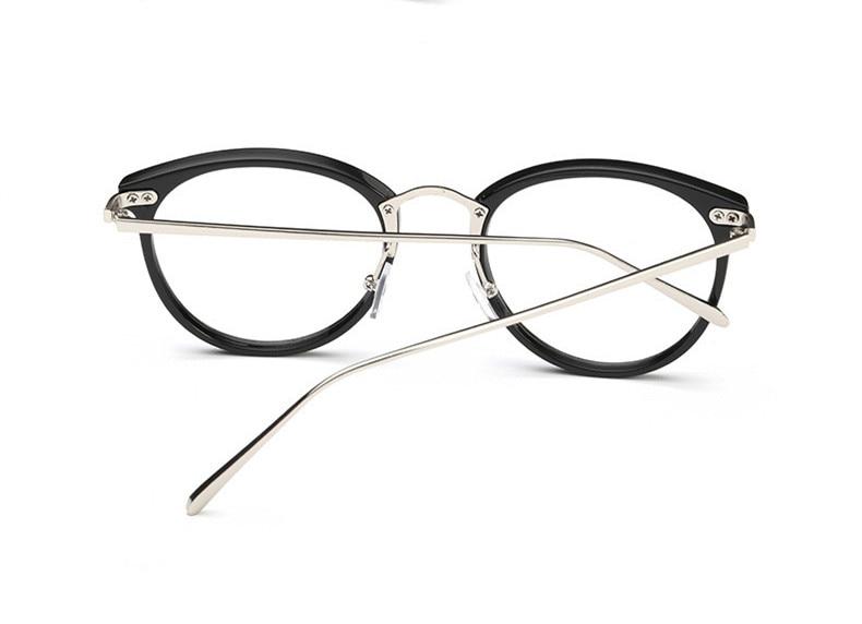 VWKTUUN Nyaste Glasögon Kattögon Glasögon Ramar Vintageglasögon - Kläder tillbehör - Foto 4