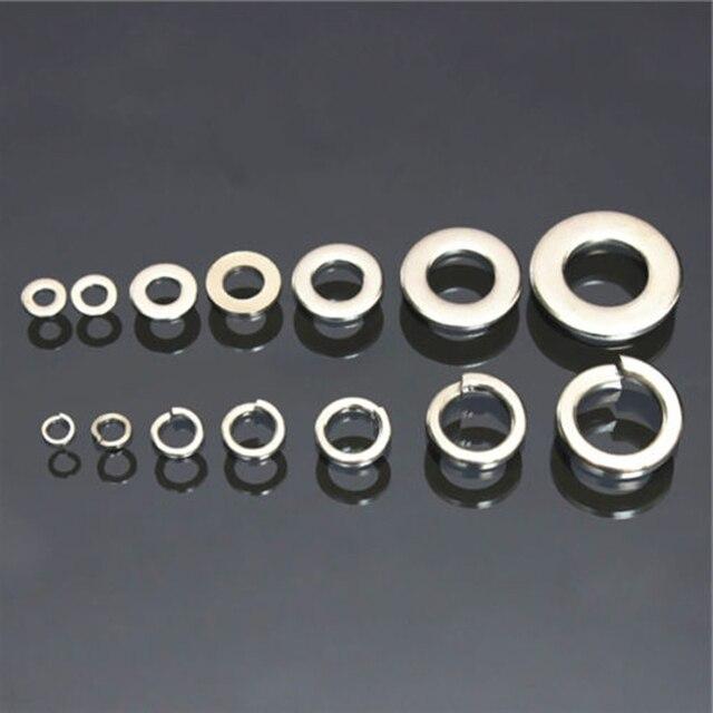 260pcs Stainless Steel Washer Mayitr Spring Washers Assortment Kit ...