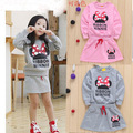 new  minnie kids clothes girls clothing sets baby girl cartoon t-shirt+ skirt 2pcs set ropa mujer ensemble fille meisjes kleding