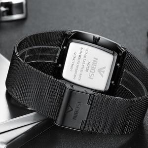 Image 5 - NIBOSI Men Quartz Sports Watches Fashion Top Brand Steel Strap Creative Waterproof Wristwatches Man Clock Relogio Masculino