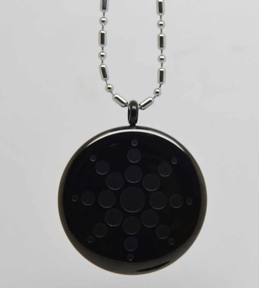 Black negative ion quantum pendant science bio scalar energy black negative ion quantum pendant science bio scalar energy necklacew 2500 3000cc ions stainless steel energy pendant in power necklaces from jewelry aloadofball Gallery