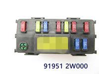 Fuse Box Engine Module System for hyundai Santa Fe 2013 2018 919512W000 91951 2W000