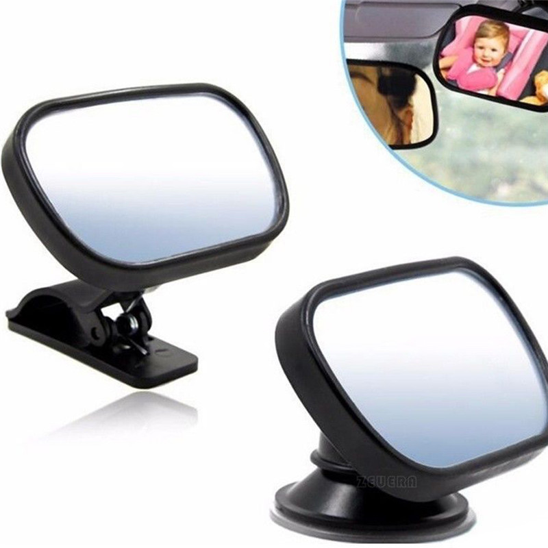 Baby Car Mirror Car Safety View Back Seat Mirror Baby Facing Rear Ward Infant Care Square Safety Kids Monitor Car Retrovisor Pakistan