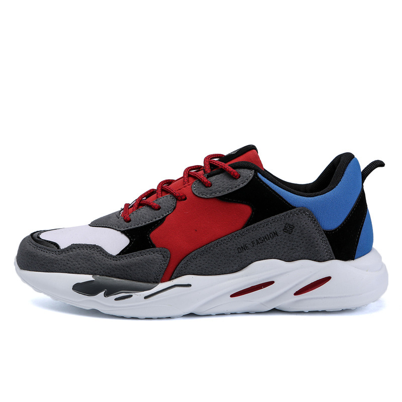 sports shoes Man old Shoes Fashion Thick Sneakers basketball shoes soles  BALADB Men Ins shoes running Youth Outdoor q07x6PvTw 036038ccbad