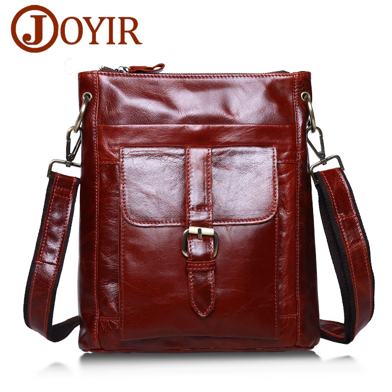 все цены на Luxury Brand Vintage Men Genuine Leather Shoulder Bag Cowhide Men Messenger Bag Male Travel Bags Crossbody Leather Bags for Men