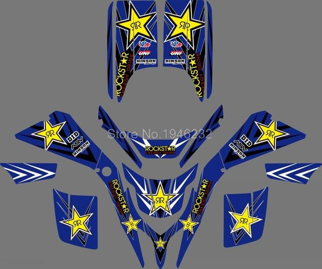 0043 New Style DECALS STICKERS GRAPHICS For  YAMAHA BLASTER YFS 200 1988 -2006
