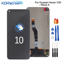 цена на Original For Huawei Honor View 20 V20  LCD Display Touch Screen Digitizer Assembly For Huawei Nova 4 Screen LCD Repair Parts
