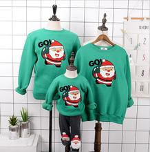 Family Christmas Clothes Mommy And Me Clothes Fleece Family Matching Clothes Family Look Father Son Mother And Daughter Clothes