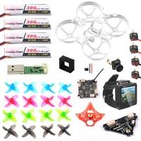 FPV версия Полный набор «сделай сам» для Mobula 7 V3 радиоуправляемого летательного аппарата FPV комбо Crazybee F4 PRO FC с видом от первого лица часы V3 рам