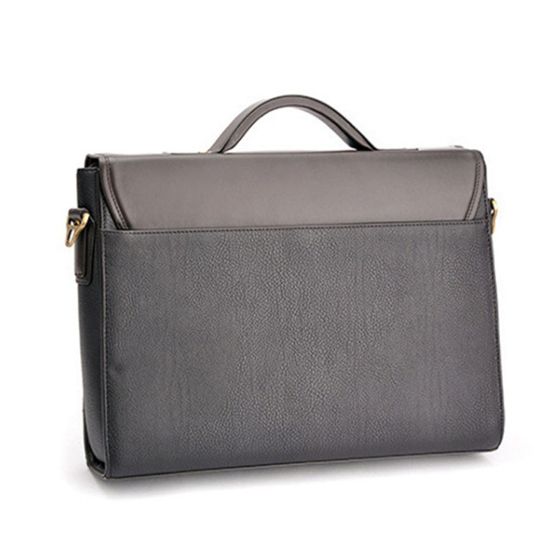 6c82ecf08c7d ZEFER Men Leather Business Password Briefcase Shoulder Bag Messenger Handbag  cross body bag briefcase Laptop bag AZ032 16-in Briefcases from Luggage    Bags ...