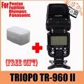 Камера Вспышка Света TRIOPO TR-960 II Беспроводная Вспышка Speedlite Свет Ручной Зум для Panasonic Pentax Olympus Fujifilm DSLR Камеры