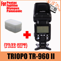 Camera Flash Light TRIOPO TR-960 II Wireless Speedlite Light Manual Zoom for Panasonic Pentax Olympus Fujifilm DSLR Camera