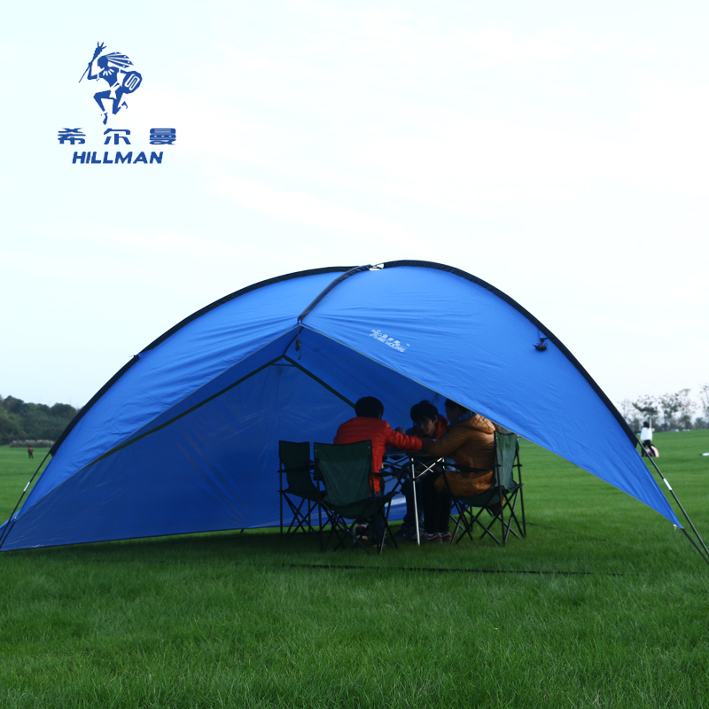 2017 Huge Family Awning Anti-UV Sun shelter Gazebo Canopy Hiking Sunshade Party Beach Fishing Park Pergola Outdoor Camping Tent large outdoor camping pergola beach party sun awning tent folding waterproof 8 person gazebo canopy camping equipment