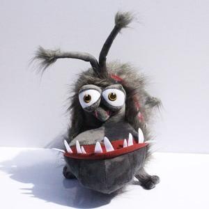 Image 2 - 25cm Anime Movie 2 Gray Grus Dog Kyle Plush Toys Plush Dolls Soft Stuffed Animal Toy Christmas Gifts