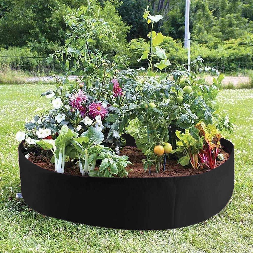 Felt Grow Bag Green Planter Gardening Flower Garden Extra Large