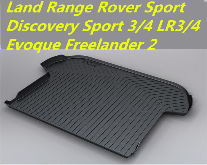 5D Rear Trunk Tray Liner Cargo Pad Mats 100% Fit For Land Range Rover Sport Discovery Sport 3/4 LR3/4 Evoque Freelander 2 Vogue lr011303 new rear left car door latch for evoque freelander 2 discovery 3 4 range rover sport 05 09 10 auto door parts supplier