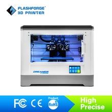 Flashforge 3D Imprimante Rêveur WIFI et écran tactile avec CE FCC Certificat Double Extrudeuse Entièrement Clos Chambre W/2 Livraison bobine