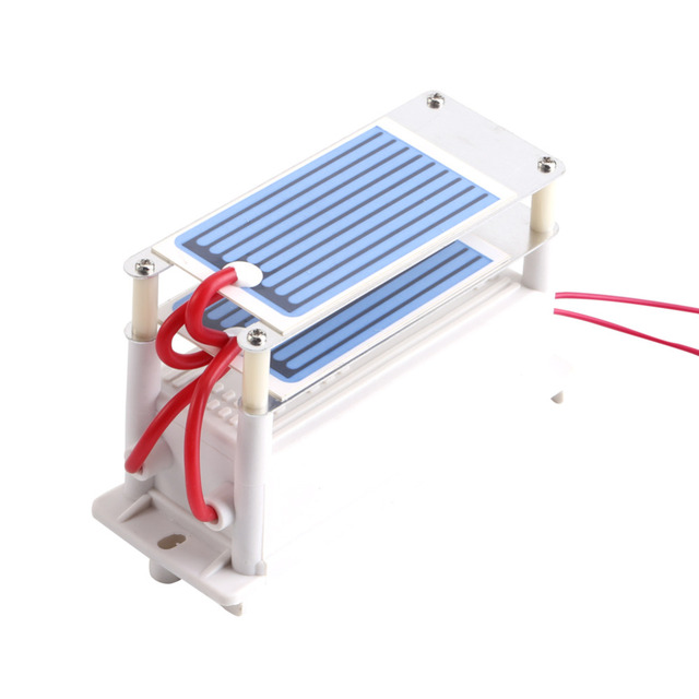 220V 110V Original 7g/h Ozone Generator with Ceramic Plate Long Life Style Longevity Double Sheet For Chemical Factory