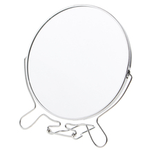 360 Degree Vanity Tabletop Magnifying Makeup Mirror 1X/2X Magnification Makeup Mirror Stand Makeup Vanity Mirror tri fold adjustable 24 led lights dimmable mirror 1x 2x 3x magnifying make up mirror bathroom tabletop mirror for beauty makeup