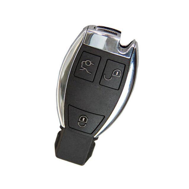 2 PCS/lot pour 2008 Benz Smart télécommande clé Shell Case 3 bouton avec clé lame FOB clé couverture