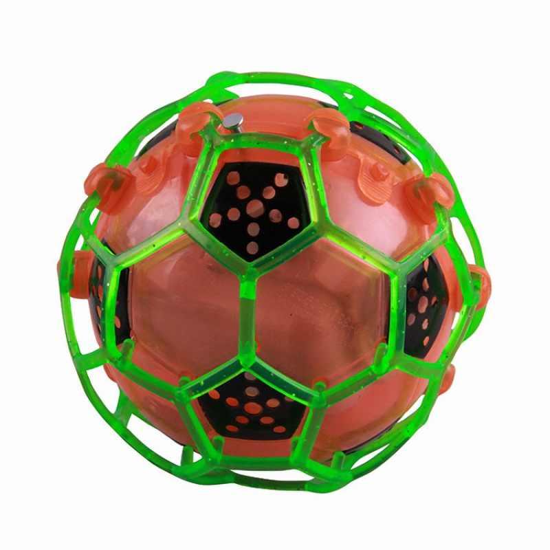 СВЕТОДИОДНЫЙ футбольный прыгающий танцевальный мяч прыгающая игрушка шары Дети сумасшедшая музыка мигает Новые веселые детские игрушки на открытом воздухе забавные спортивные игрушки