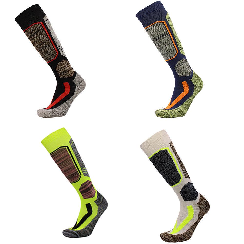 Snow Hiking 1Pair Men Women Outdoor Winter Socks Long Boot Socks Thick Warm