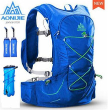 AONIJIE Lightweight Running Bags Backpack Outdoor Sports Trail Racing Marathon Hiking Bag Hydration Vest Pack 3L Water