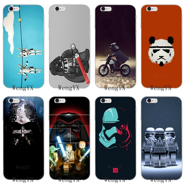 new styles e3c87 7193f US $1.99  Stunning Lego Star Wars Slim silicone Soft phone case For Samsung  Galaxy S3 S4 S5 S6 S7 edge S8 S9 Plus mini Note 3 4 5 8-in Half-wrapped ...