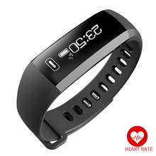 R5 PLUS Smart Band Heart rate Monitor Alarm Clock Bluetooth 4.0 Fitness Activity Wristband Sports Watch for iOS Android