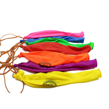 DECORA 12 inch Punch Balloons with Rubber Band Handles Assorted Colors Game Balloons 10 Pcs Lot