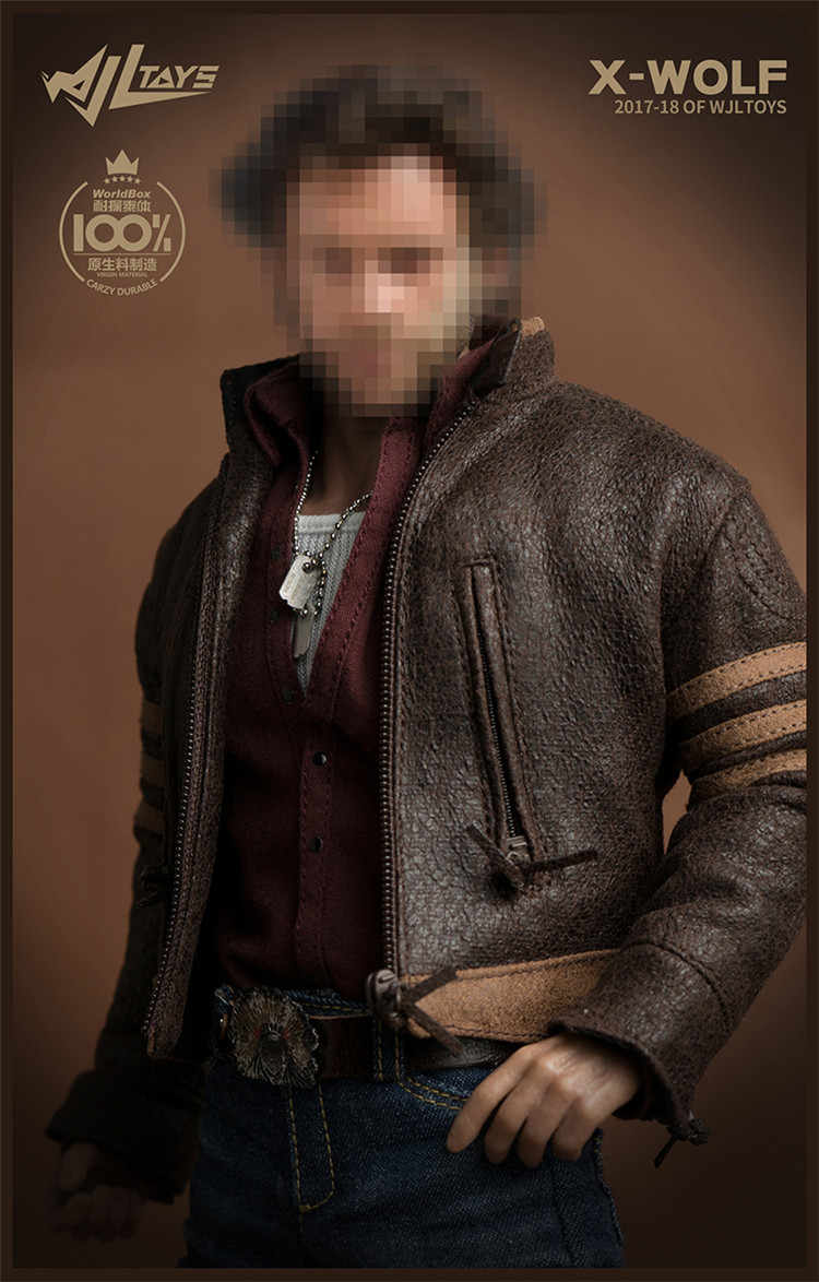 WJL TOYS WJT-03 1//6 Scale Wolverine Logan Shirt Model
