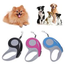 New 3M/5M Automatic Retractable Pet Dog Leash Traction Rope Lead Chain for Small Medium Collar Extending
