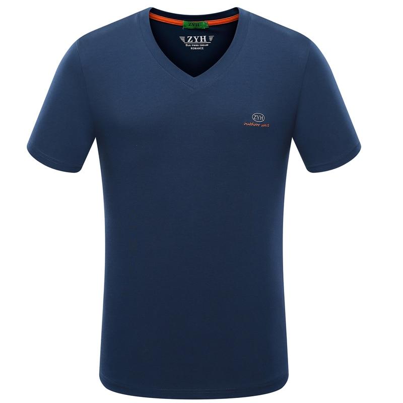 2018 Mäns t-shirt av högkvalitativ märke bomull T-shirt män nya - Herrkläder