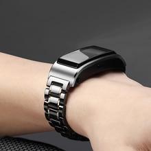 18mm bracelet de montre en céramique pour Huawei TalkBand B5/honour montre s1 bracelet de remplacement à dégagement rapide bracelet de montre ne se décolore pas