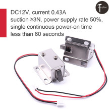 DC12V Solenoid Electric 27*29*18mm